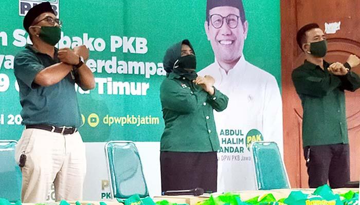 PKB gelontor bantuan untuk masyarakat terdampak Covid-19 di Jatim.