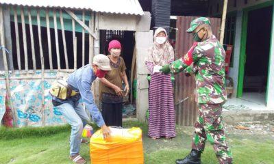 TNI-Polri kawal pendistribusian logistik untuk sahur dan berbuka puasa