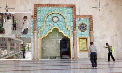 Jelang Idul Fitri 1441 Hijriyah, jajaran Polsek Preduan melakukan pencegahan terhadap covid-19