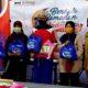 Penyerahan Bingkisan Sembako dari BNI untuk para Petugas Kebersihan di Nunukan
