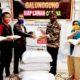 Abah Anton bersama INTI dan komunitas binaannya bagikan sembako buat waratawan