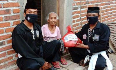 Keluarga Besar PSHT Rayon Bancar ponorogo gelar bakti sosial