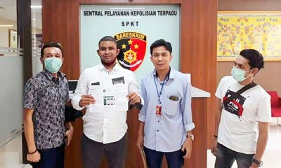 APA Aceh di Jakarta melaporkan kasus kitab Suci ke Bareskrim.