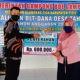 Foto. Keuchik Gampong Ude, Glumpang Tiga, Kabupaten Pidie, Salurkan BLT Dana Desa Tahap III, Kamis (18/06).