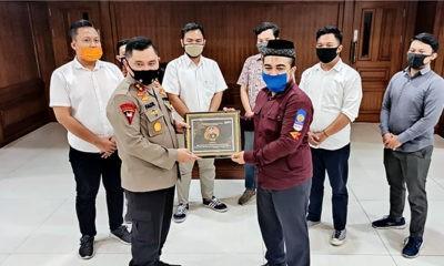 Kolaborasi jaga Kamtibmas, Polda Jatim gandeng BEM Nusantara.