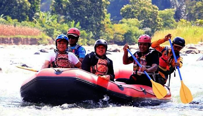 Galakkan wisata alam, Pemda Pidie Jaya luncurkan program wisata arung jeram