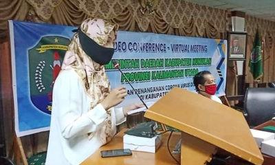 Laura gelar halalbihalal virtual dengan tokoh masyarakat se-Kabupaten Nunukan.