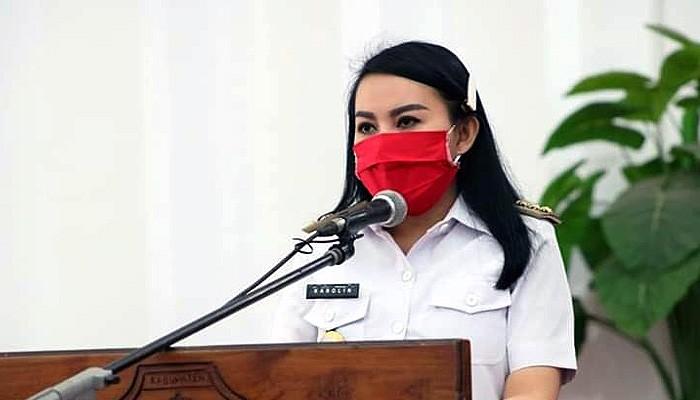 Mengenang Tragedi Mandor Berdarah, Karolin minta masyarakat kibarkan bendera setengah tiang.