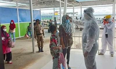 321 WNI Pekerja Migran Indonesia (PMI) dideportasi dari Malaysia