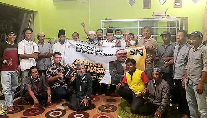 Pilkada Nunukan: dukungan tokoh masyarakat kepada M Nasir terus mengalir.