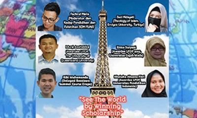 Ingin dapat beasiswa di dalam dan luar negeri.