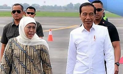 Jokowi Ultah Ke 59 tahun, Gubernur Khofifah beri ucapan selamat.
