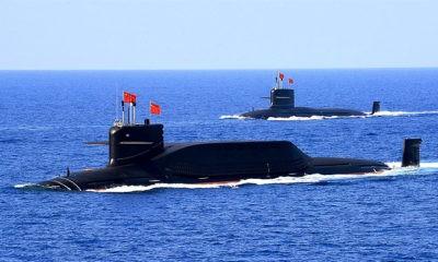 Kapal Selam Nuklir Cina unjuk gigi dekat wilayah teritorial Jepang.