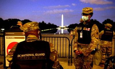 Pejabat DOD: National Guard adalah pilihan pertama dalam menanggapi kerusuhan sipil.