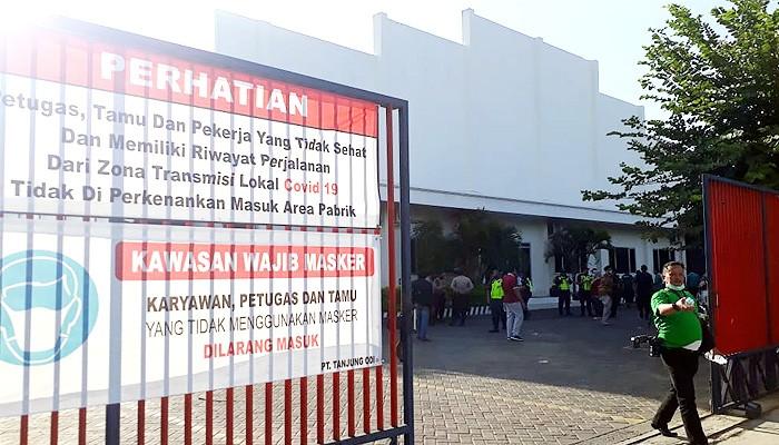 Pasca sidak, Bupati Sumenep tutup PT. Tanjung Odi.