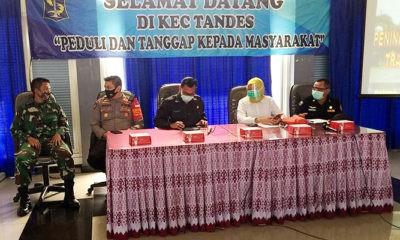Pelatihan pelacakan kontak erat di gelar di Kecamatan Tandes, Surabaya.