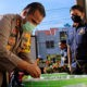 Polres Palopo giatkan program ketahanan pangan dengan budidaya tanaman dan perikanan.