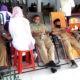 Acara donor darah di kantor cabang Dinas Pendidikan Kabupaten Aceh Tamiang.