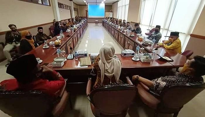 Pemkab Nunukan dan DPRD Tarakan jajak pendapat persiapan New Normal.