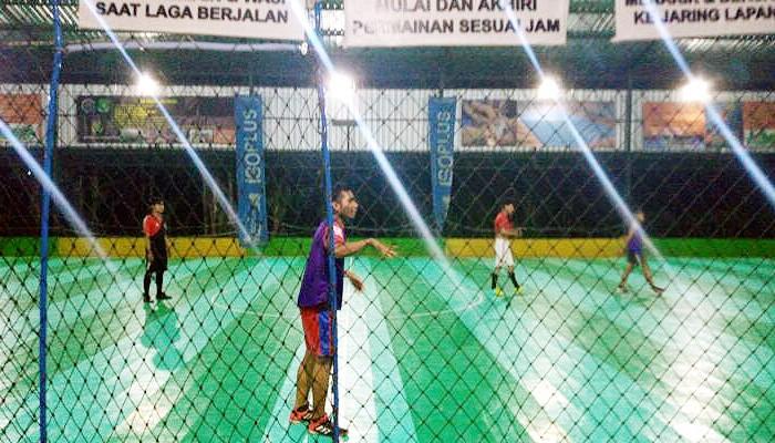 Selama pandemi Covid-19 olahraga futsal menjadi pilihan