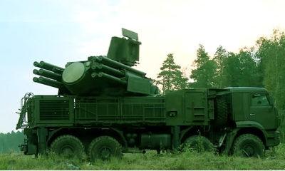Pantsyr-SM terbaru Rusia segera masuki medan laga.