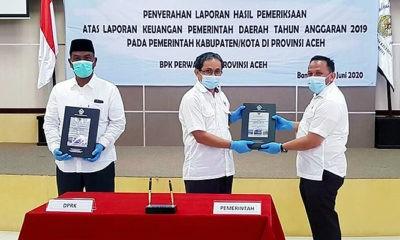 Hadiah Ulang Tahun Kabupaten Pidie Jaya Kembali Meraih WTP.