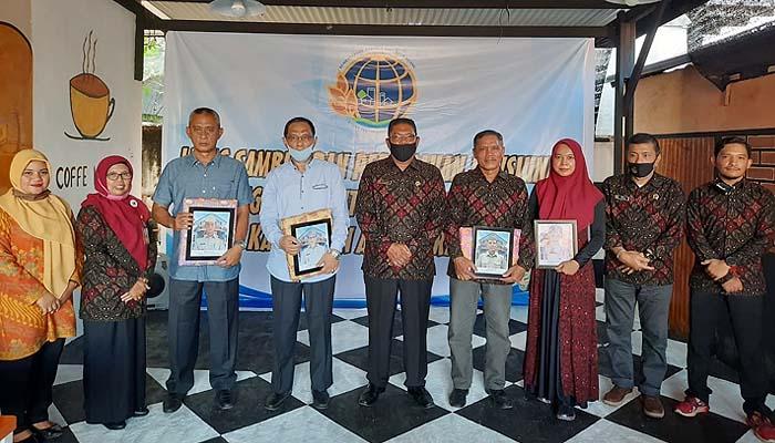 Lepas sambut dan perpisahan pensiunan pegawai Kantor Pertanahan Kabupaten Aceh Barat.
