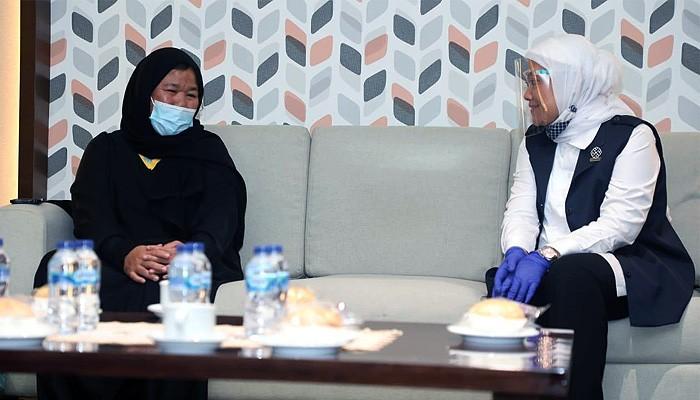 Lolos dari maut di Arab, PMI Etty dijemput Menaker
