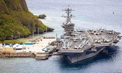 Hadapi Cina, AS tempatkan sistem pertahanan rudal Aegis Ashore di Guam.