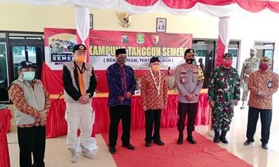 Beri dukungan, Bupati Sumenep resmikan Kampung Tangguh di Desa Lombang Gili Raja.