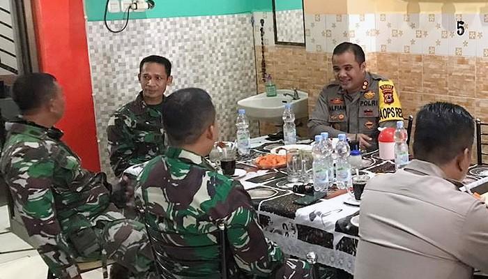 """Sinergitas TNI-Polri Melalui """"Coffee Morning"""" untuk menjaga kamtibmas di Kota Palopo"""