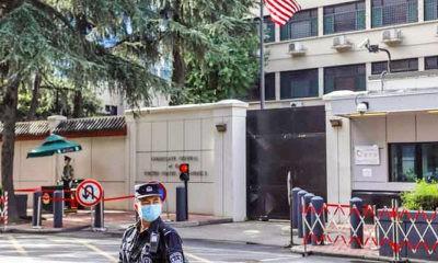 Balas Washington, Beijing tutup Konsulat Amerika Serikat (AS) di Chengdu.