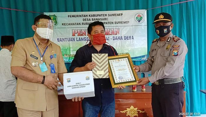 Desa Banasare Hebat, Raih Juara III Kampung Tangguh: Ini Penjelasan Kapolsek Rubaru.