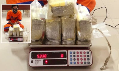 Tangkap kurir sabu di Jakarta, Polda Jatim sita sabu 5,3 Kg.