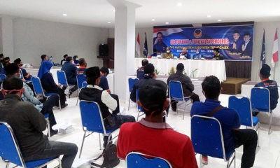 Pimpin Nasdem, Mirza Ananta targetkan empat kursi DPRD Trenggalek.