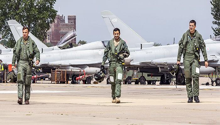 Kalah Perang di Yaman, Arab Saudi latih pilot tempurnya di Inggris.