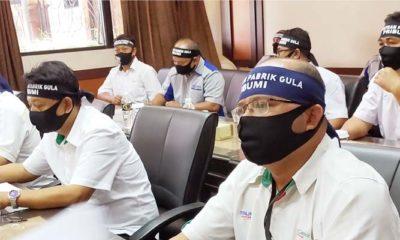 Ngadu ke Dewan Jatim, Forum Komunikasi Serikat Pekerja Pabrik Gula beber aksi serobot PG KTM dan PG RMI.