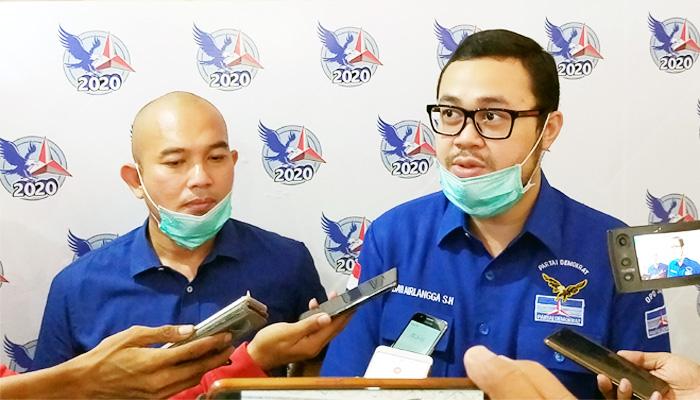 Demokrat resmi sodorkan dua nama kader yang layak dampingi Machfud Arifin di Pilwali Surabaya.