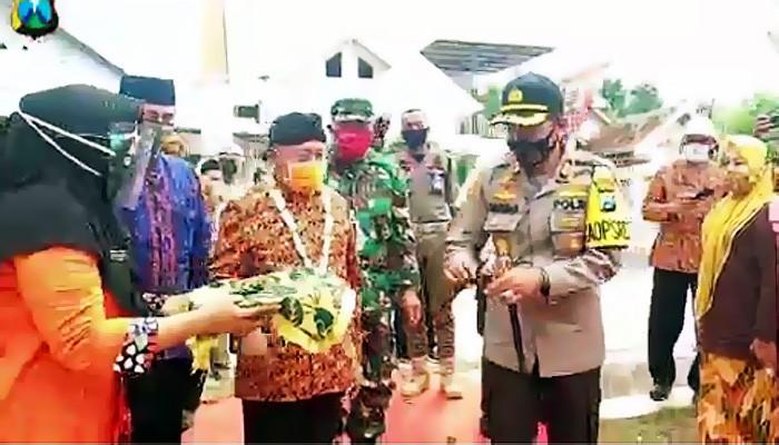 Launching Kampung Tangguh di wilayah kepulauan Sumenep.