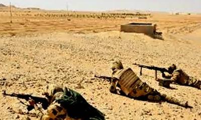 Angkatan bersenjata Mesir dengan dukungan kekuatan udara berhasil menggagalkan serangan teroris