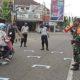 Tegakkan Disiplin Protokaol Kesehatan, Kodim dan Polres Ponorogo Sosialisasikan Physical Distancing