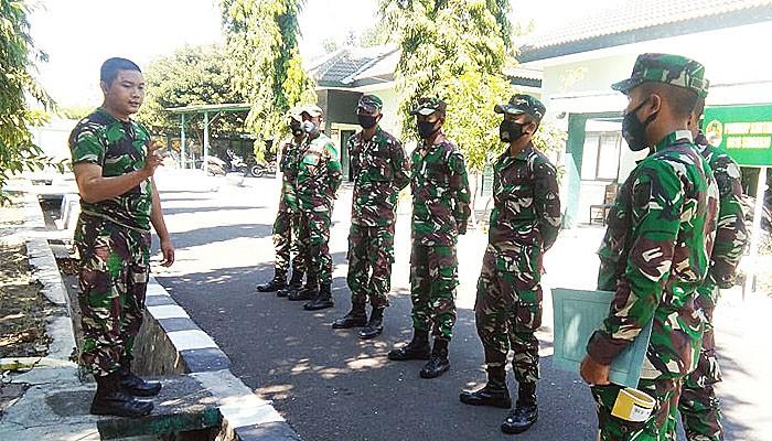 Siap ditempatkan di Pulau Madura, Bintara Muda perkuat ilmu teritorial.
