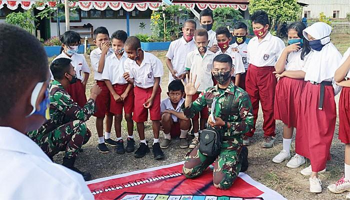Trik Monopoli Prajurit Branjangan di Sekolah Dasar.