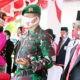 Acara peringatan Hari Kemerdekaan RI di Papua berjalan aman dan tertib.
