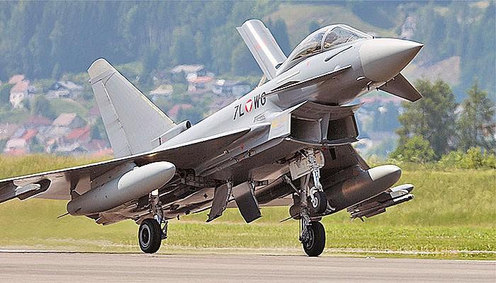 Nasib Eurofighter Typhoon Austria yang jarang terbang.