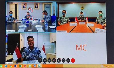 Indonesia-Singapura bahas kerja sama penanganan berbagai ancaman dan keamanan maritim.