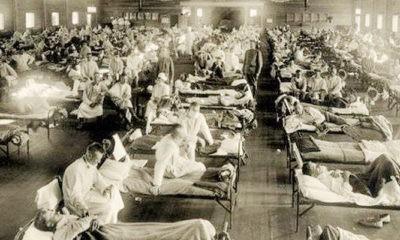 Siklus 100 tahunan pandemi flu dan ledakan dahsyat Amonium Nitrat.
