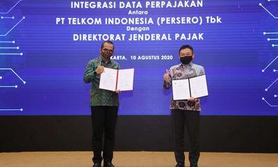 DJP dan Telkom perkuat kerja sama melalui integrasi data perpajakan.