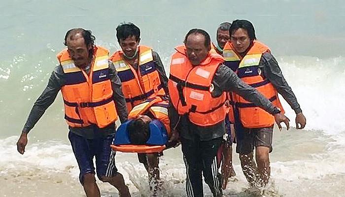 Bakamla RI Latih SAR Laut Relawan Penjaga Laut Nusantara.