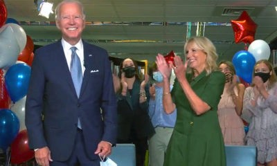 Partai Demokrat resmi menominasikan Mantan Wakil Presiden Amerika Serikat (AS) Joe Biden sebagai presiden